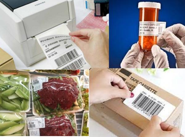 Ứng dụng máy in tem nhãn mã vạch trong các lĩnh vực công nghiệp và đời sống