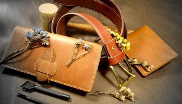 Ứng dụng sản phẩm trong da handmade