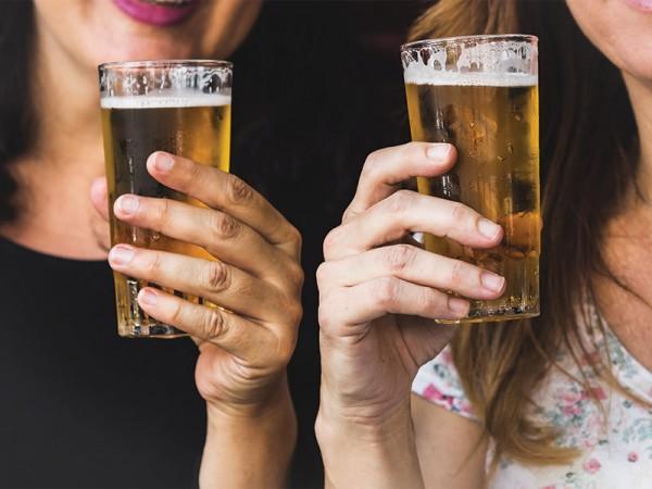 Uống bia có hết kinh nhanh không