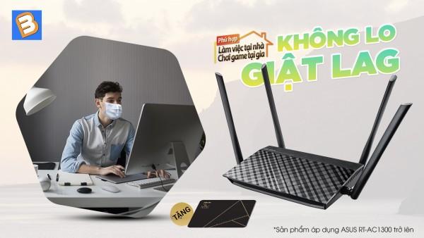 Ưu đãi hấp dẫn khi mua Router Wifi ASUS tại Binh Minh Digital
