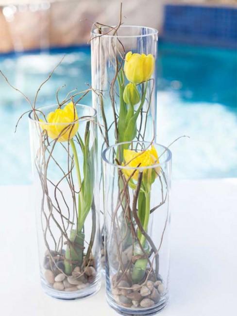 Ưu điểm của việc trang trí nhà bằng lọ hoa thủy tinh