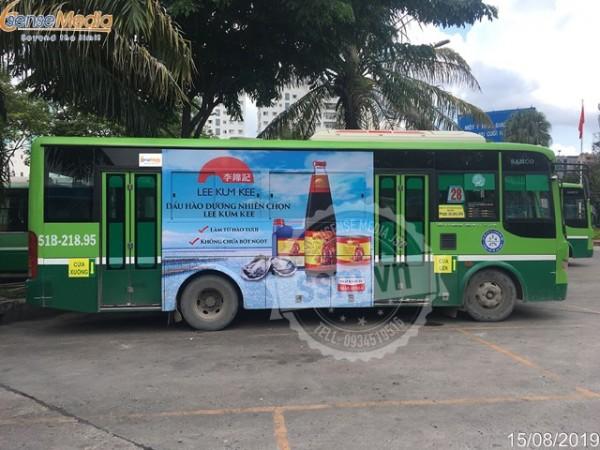 Ưu nhược điểm của quảng cáo trên xe bus