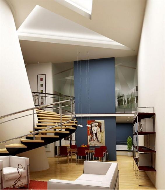 Vai trò quan trọng của cầu thang trong nhà