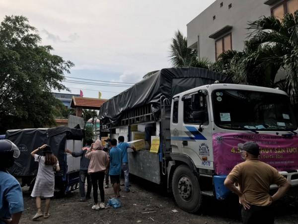 Vận tải hàng hóa đi KCN Hưng Yên xuyên dịch tại HCM