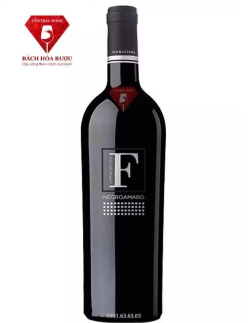 Vang F Limited Edition Negroamaro San Marzano