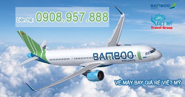 Vé máy bay Bamboo Airways đường Nguyễn Lương Bằng quận Bình Tân