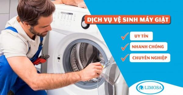 Vệ sinh máy giặt Sharp