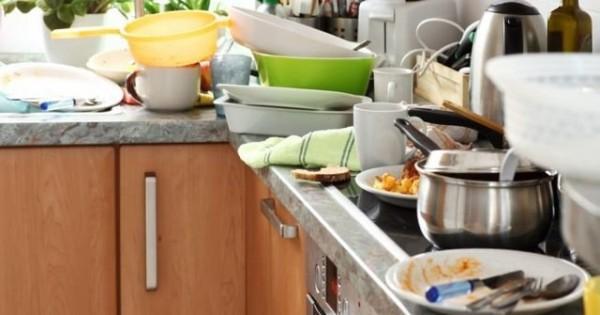 Vệ sinh nhà cửa với những thực phẩm trong nhà bếp