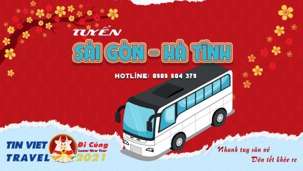 Vé Xe Giường Nằm Sài Gòn - Hà Tĩnh