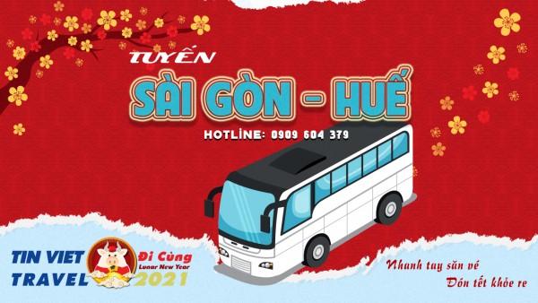 Vé Xe Tết Sài Gòn Huế