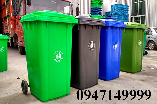 Vì sao thùng rác công nghiệp 120 lít được lựa chọn nhất hiện nay