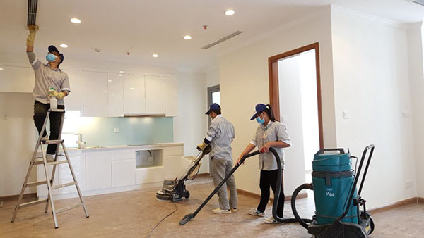 Việc dọn dẹp nhà mới xây để chuẩn bị dọn vào ở là điều cần thiết