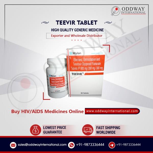 Viên nén Teevir số lượng lớn giá trực tuyến từ nhà cung cấp thuốc