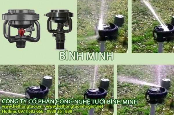 vòi phun tưới nông nghiệp, thiết kế hệ thống tưới  phun mưa,mô hình hệ thống tưới phun mưa