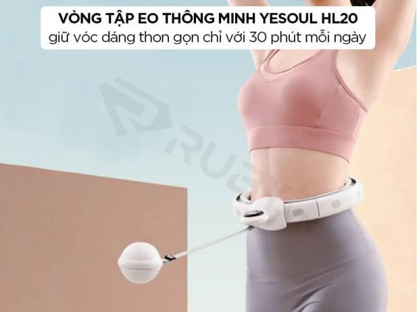 Vòng lắc eo, lắc bụng thông minh Xiaomi Yesoul HL20