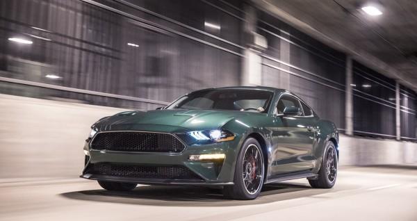 Website bán xe - cập nhật Ford Mustang Bullitt