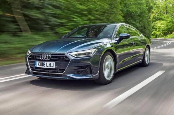 Website bán xe giới thiệu Audi A7 Sportback