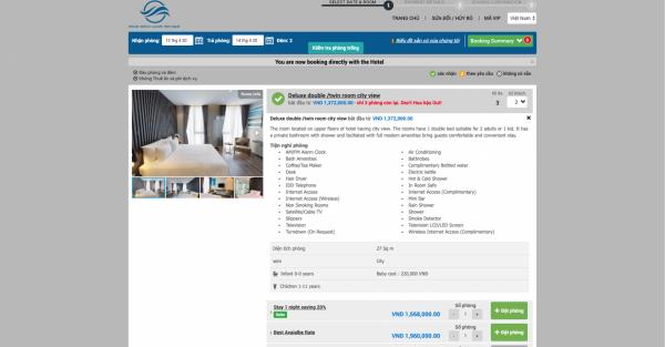 Website chính thức - một kênh truyền thông do chính khách sạn làm chủ