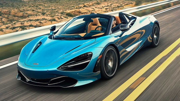 Website đại lý - tin xe McLaren 720s Spider Performance