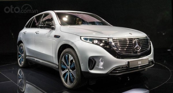 Website xe giới thiệu Mercedes-Benz EQC 2020