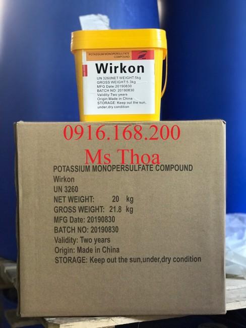 WIRKON - Nguyện liệu diệt khuẩn phổ rộng, an toàn