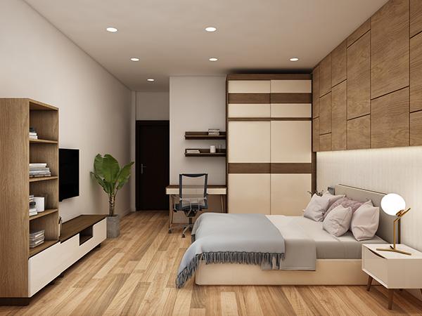 Xác định những vị trí thích hợp đặt tủ quần áo trong phòng ngủ