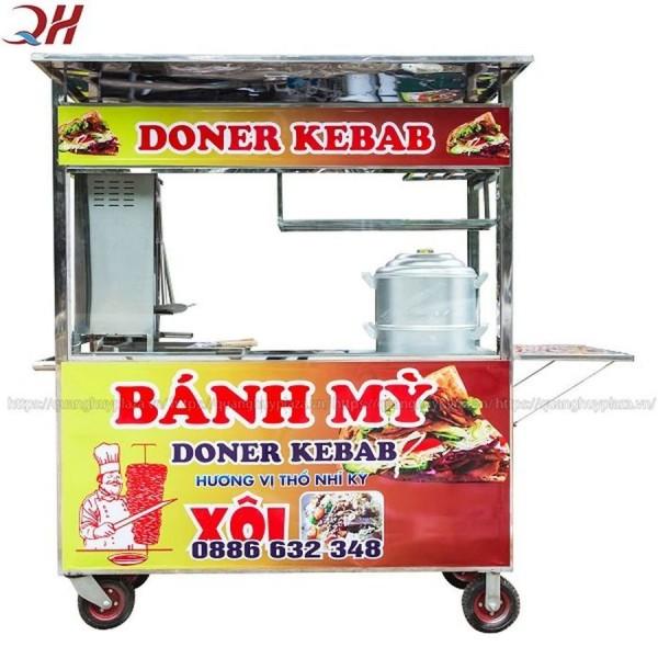 Xe bán xôi bánh mì Quang Huy - mẫu xe bán chạy nhất 2019