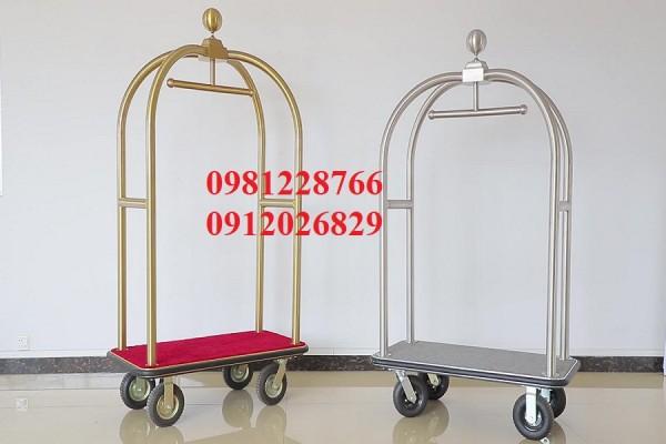 Xe đẩy hành lý giá rẻ - Sản phẩm giúp nâng cao chất lượng khách sạn