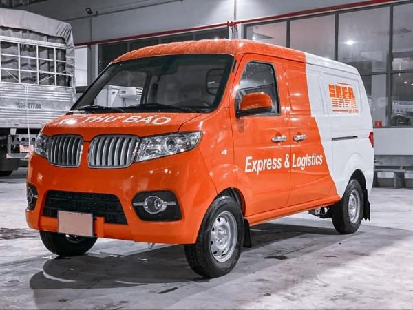 xe Dongben Van 2 chỗ 930kg giá khuyến mãi cuối năm | Tặng bộ camera chất lượng 4k