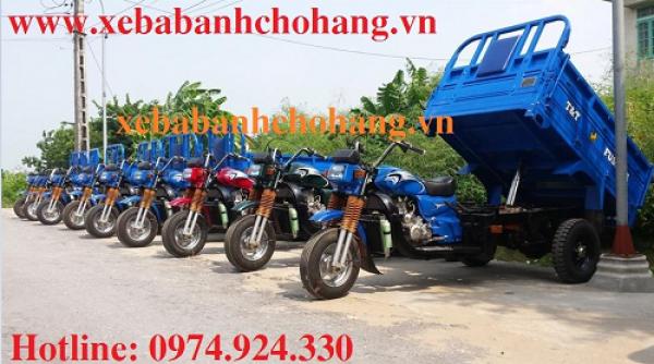 Xe lôi ba bánh chở hàng sẽ đạt chất lượng tốt nhất khi thay dầu phù hợp