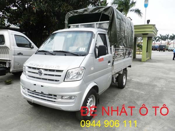 Xe ô tô tải nhẹ DFSK cabin đơn thùng mui TG DF-0.855TM15