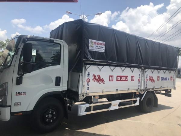 Xe tải 5T - Isuzu khuyến mãi trước bạ 100%