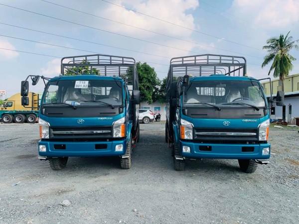 xe tải chiến thắng 7 tấn 2 thùng mui bạt 6m7 giá tốt giảm 10tr