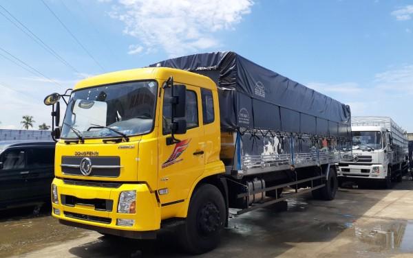 Xe tải Dongfeng b180 hoàng huy, dongfeng b180 9 tấn