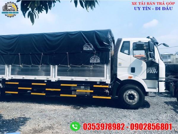 Xe tải faw thùng dài | giá xe tải thùng dài nhập khẩu 9.7 mét