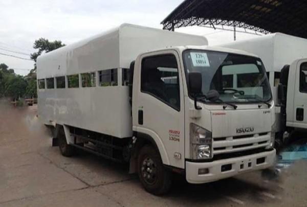Xe tải Isuzu 5 tấn thùng tập lái