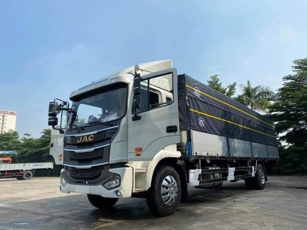 xe tải jac a5 8 tấn thùng dài 9m5