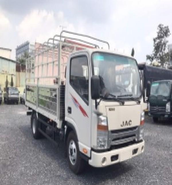 xe tải JAC N350 tải trọng 3.490kg thùng dài 4m3 - thùng kín - thùng bạt - 2021