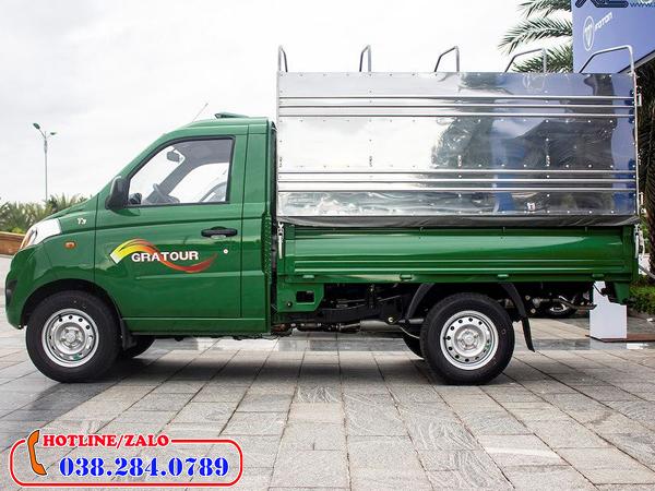 Xe tải nhỏ Foton chạy trong thành phố không bị cấm giờ