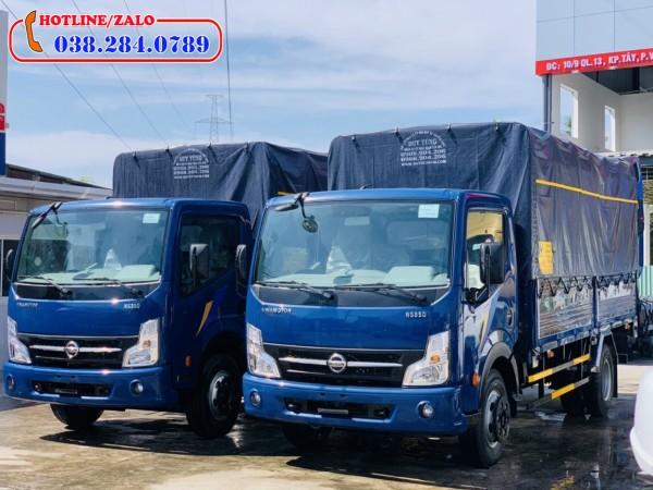 Xe tải Nisan 3,5 tấn thùng bạt. Động cơ mạnh nhất phân khúc