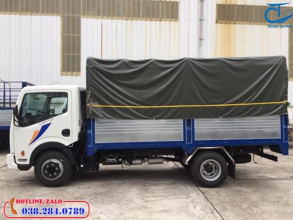 Xe tải Nissan 1,9 tấn thùng bạt-Động cơ mạnh nhất phân khúc