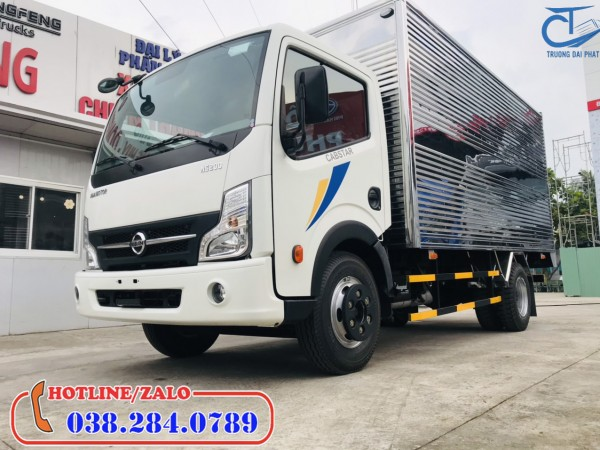 Xe tải Nissan 1,9 tấn thùng kín-Động cơ mạnh nhất phân khúc