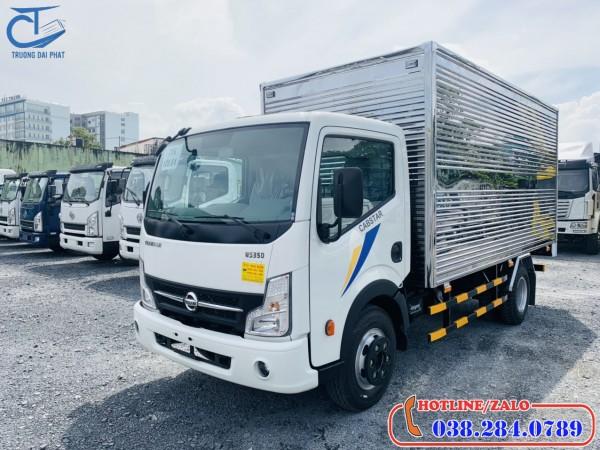 Xe tải Nissan 3,5 tấn thùng kín. Mạnh nhất phân khúc