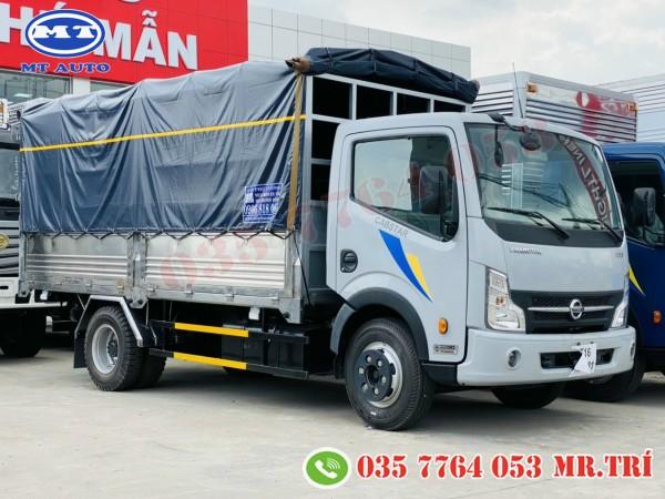 xe tải nissan 3 tấn 5 thùng inox 4m3  hỗ trợ góp ngân hàng 80%