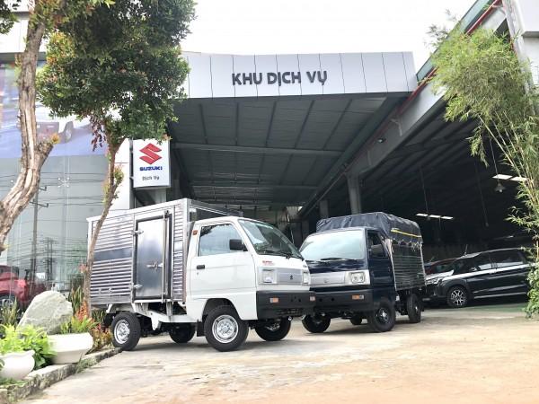 Xe tải Suzuki Carry Truck 500kg Đời 2021 Xe tải thành phố Nhỏ gọn tiện dụng