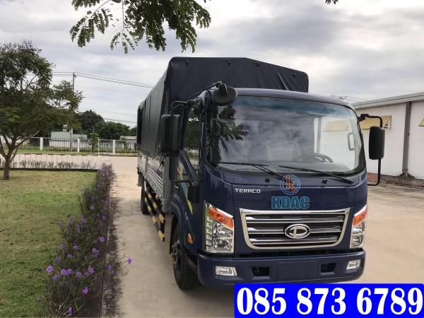 Xe tải Tera 345SL mui bạt, Xe tải Teraco 3.45 tấn