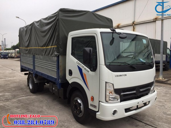 Xe tải Vinamotor Nissan 1,9 tấn thùng bạt