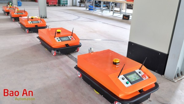 Xe tự hành AGV - Tự động hóa công nghiệp 4.0