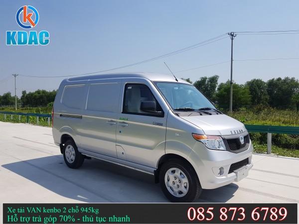 Xe Van Kenbo 2 chỗ 945kg giá tốt - hồ sơ nhanh