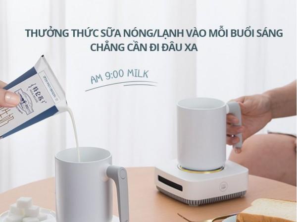 Xiaomi Boling Làm Lạnh Nhanh Cốc Cho Gia Đình & Văn Phòng Di Động Mini Để Bàn Ngăn Mát Tủ Lạnh